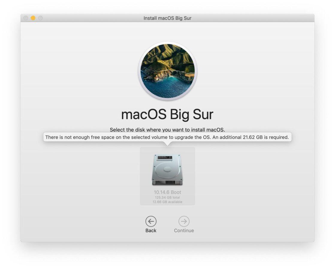 macOS Big Sur – instalator