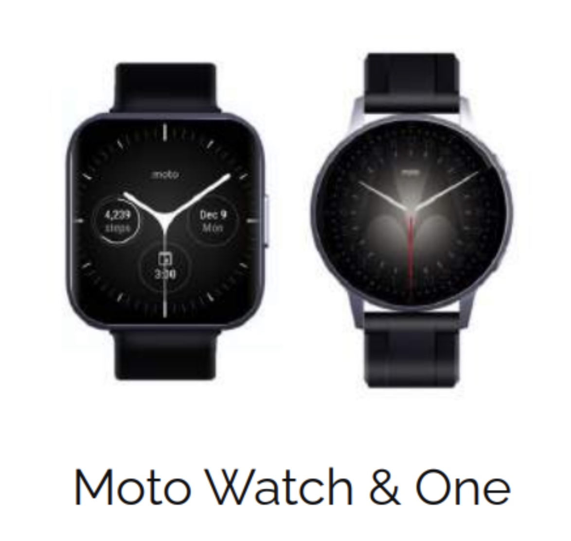 Motorola Moto Watch, Motorola Moto One