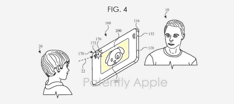 iPhone iPad z dodatkowym ekranem