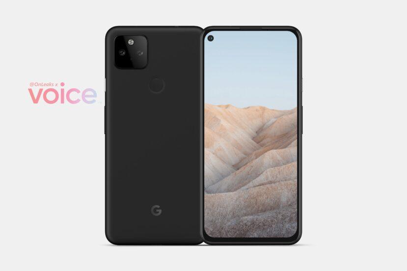 Google Pixel 5a - render