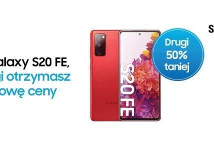 promocja Samsung Galaxy S20 FE 5G drugi za pół ceny