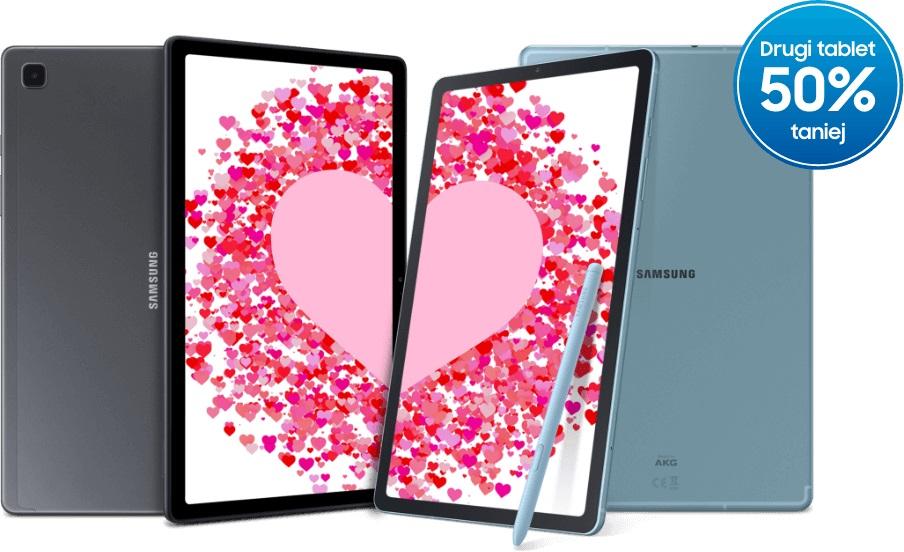 promocja drugi tablet Samsung za pół ceny