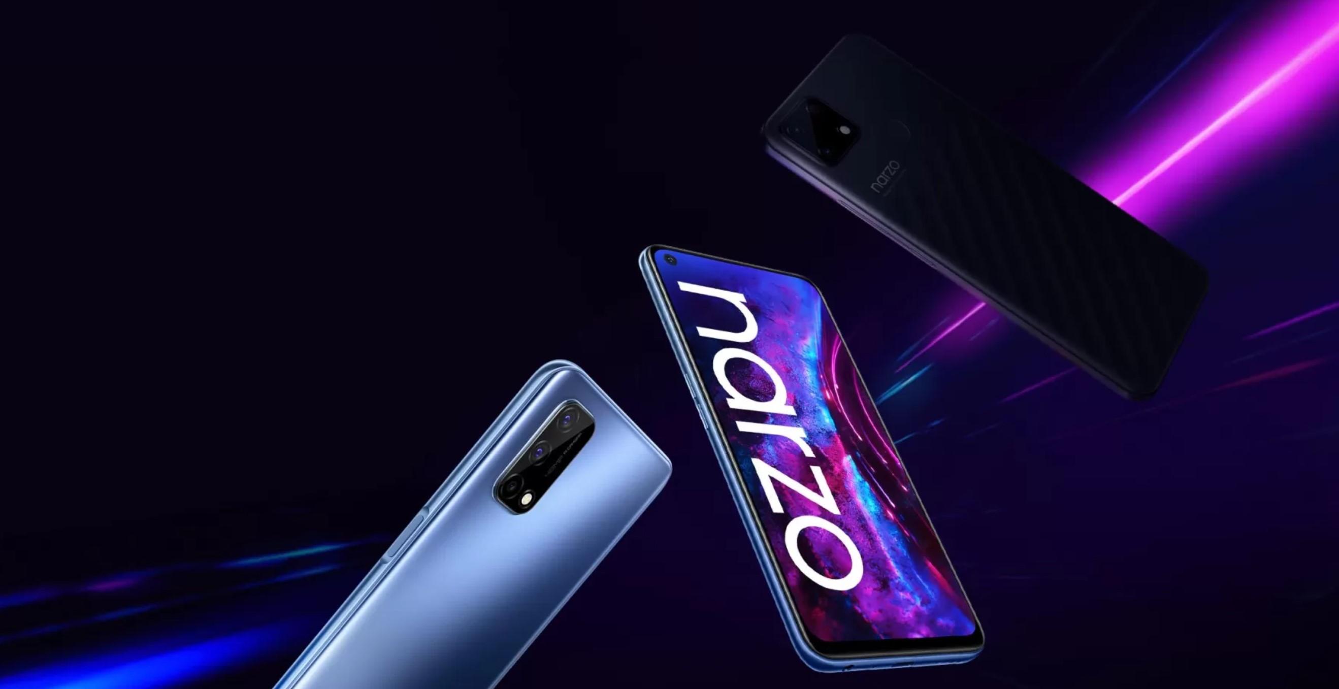 Smartfony realme Narzo ruszają na podbój średniej półki. Jest ekran 120 Hz i solidna bateria