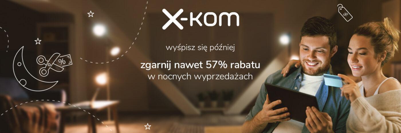 x-kom promocja nocne wyprzedaże