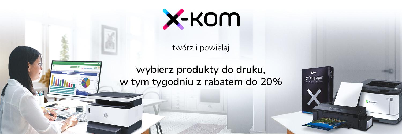 x-kom promocja tydzień druku