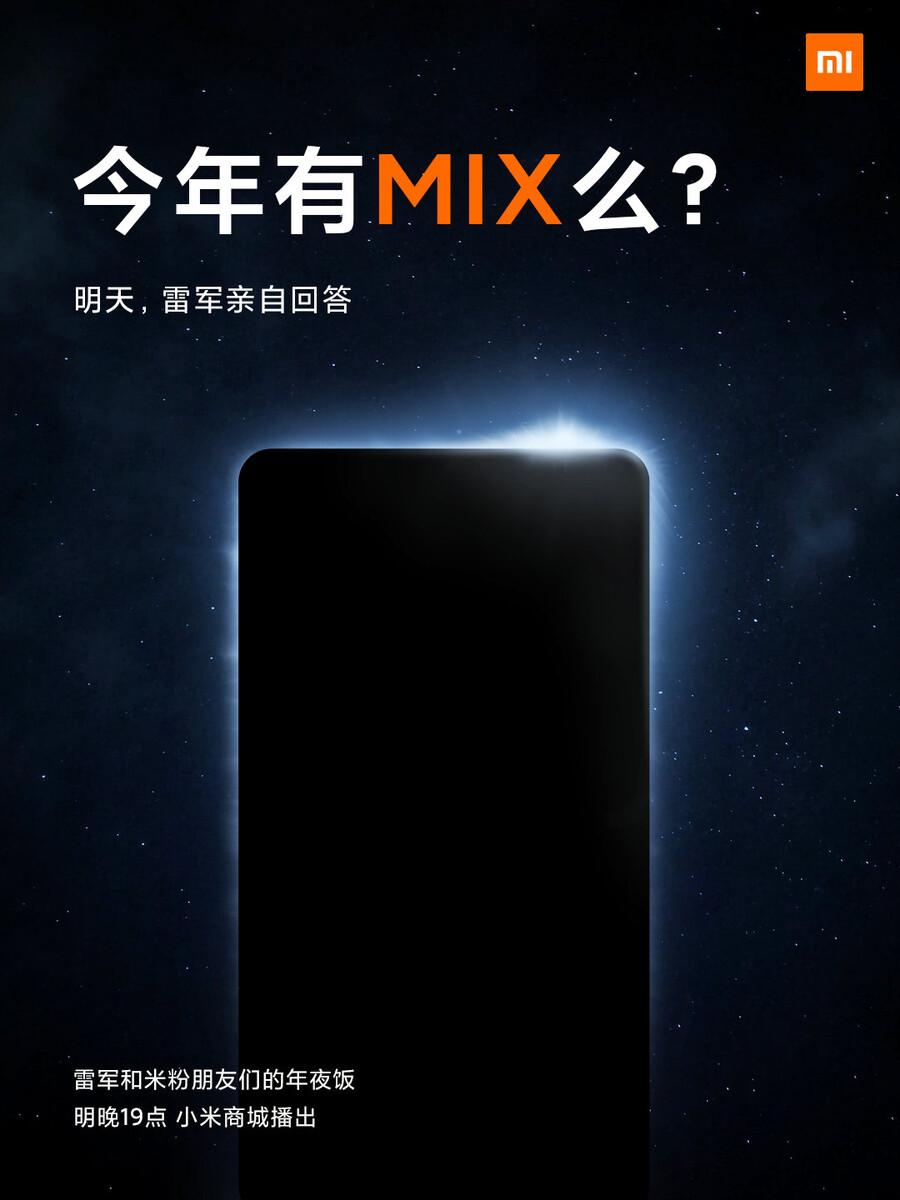 Xiaomi Mi Mix 4 fot. Xiaomi