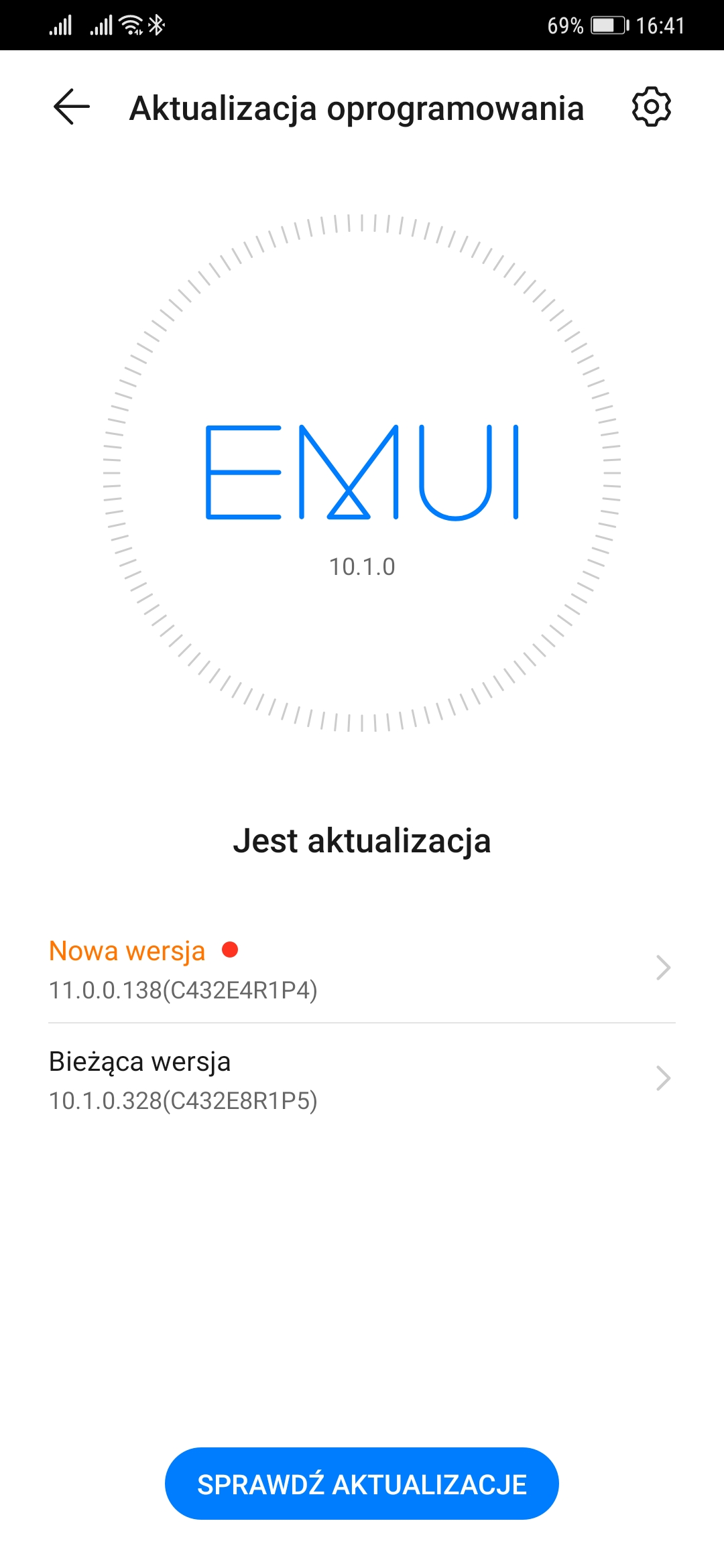 Huawei Mate 20 Pro EMUI 11 Android 10