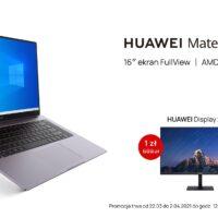 Huawei MateBook D16 premiera Polska oferta przedsprzedażowa promocja