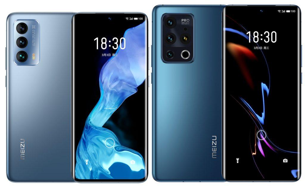 smartfony Meizu 18 i 18 pro