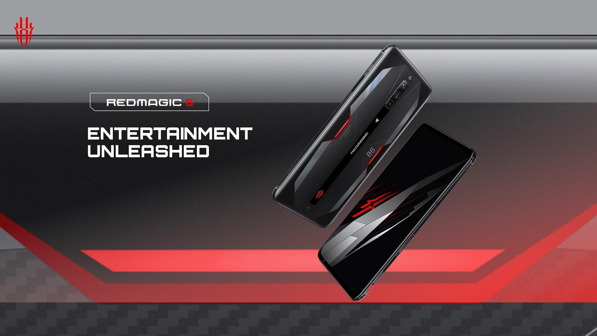 smartfon Nubia RedMagic 6 smartphone