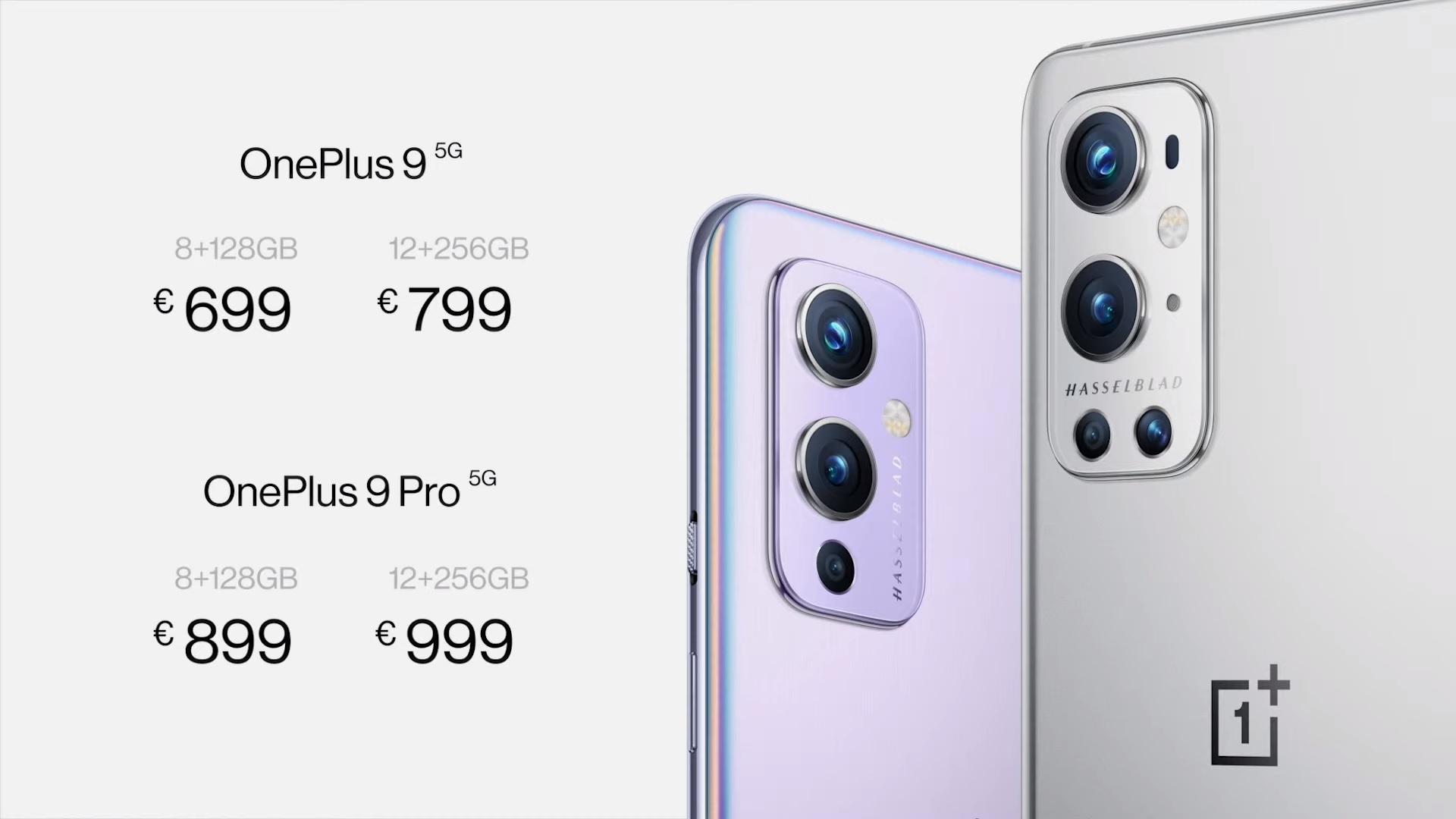 cena OnePlus 9 Pro w Europie