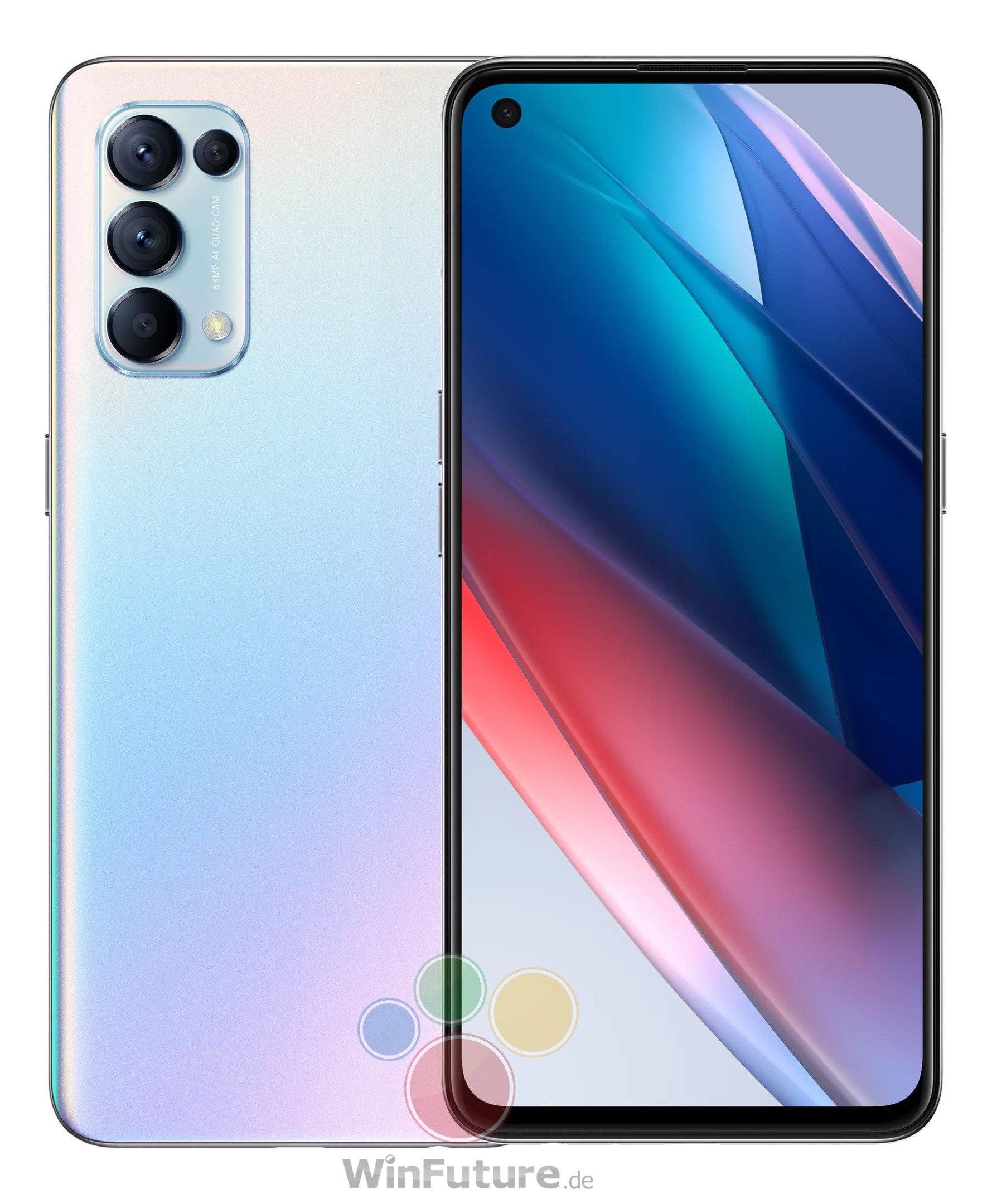 smartfon Oppo Find X3 Lite 5G smartphone