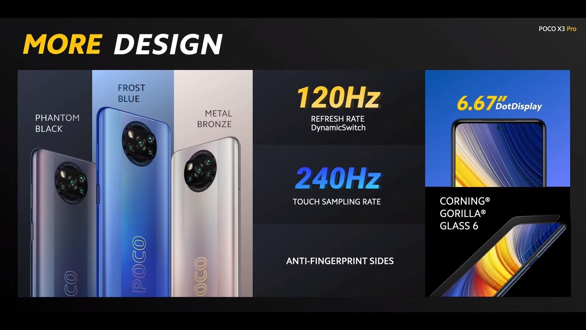 smartfon POCO X3 Pro smartphone