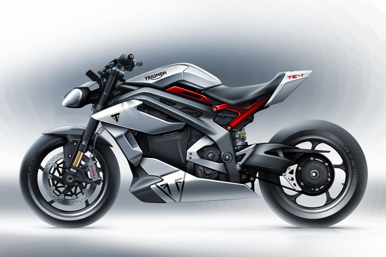 motocykl Triumph TE-1 motorcycle