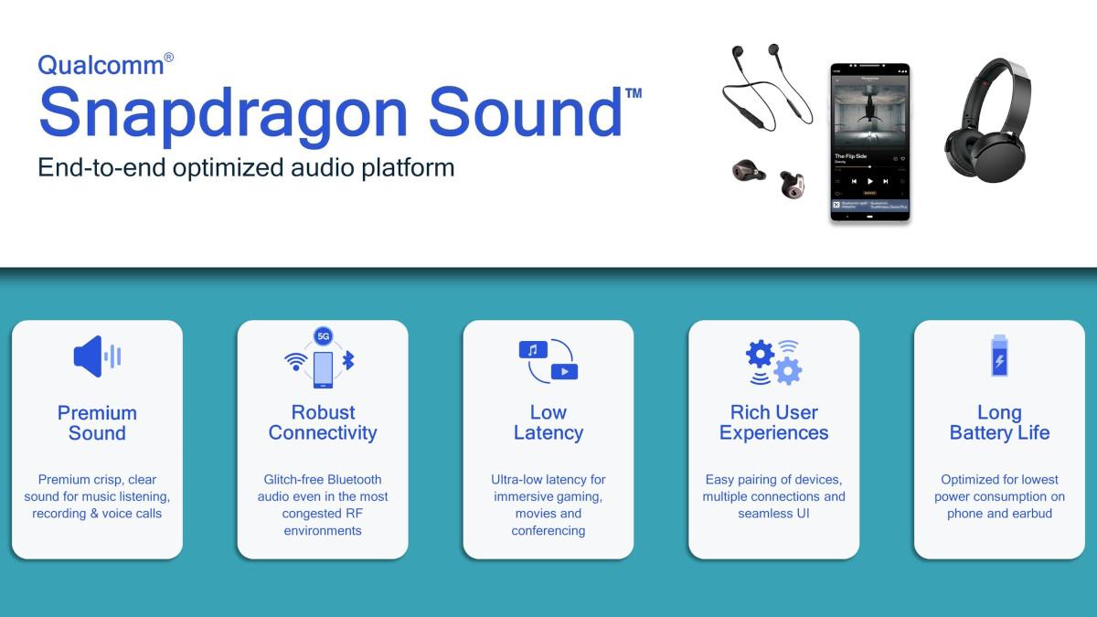 Snapdragon Sound to kompleksowa platforma (źródło: Android Authority)