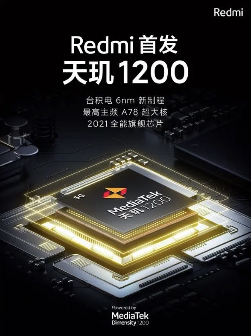 Redmi MediaTek Dimensity 1200