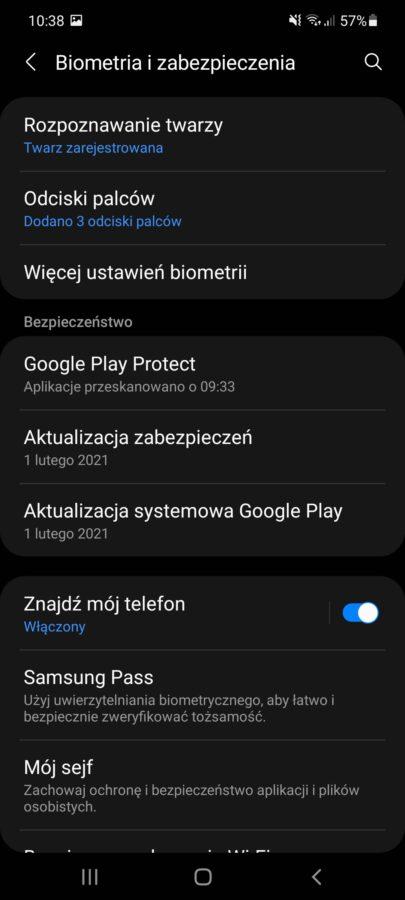 Samsung Galaxy A71 Android 11 One UI 3.1 aktualizacja