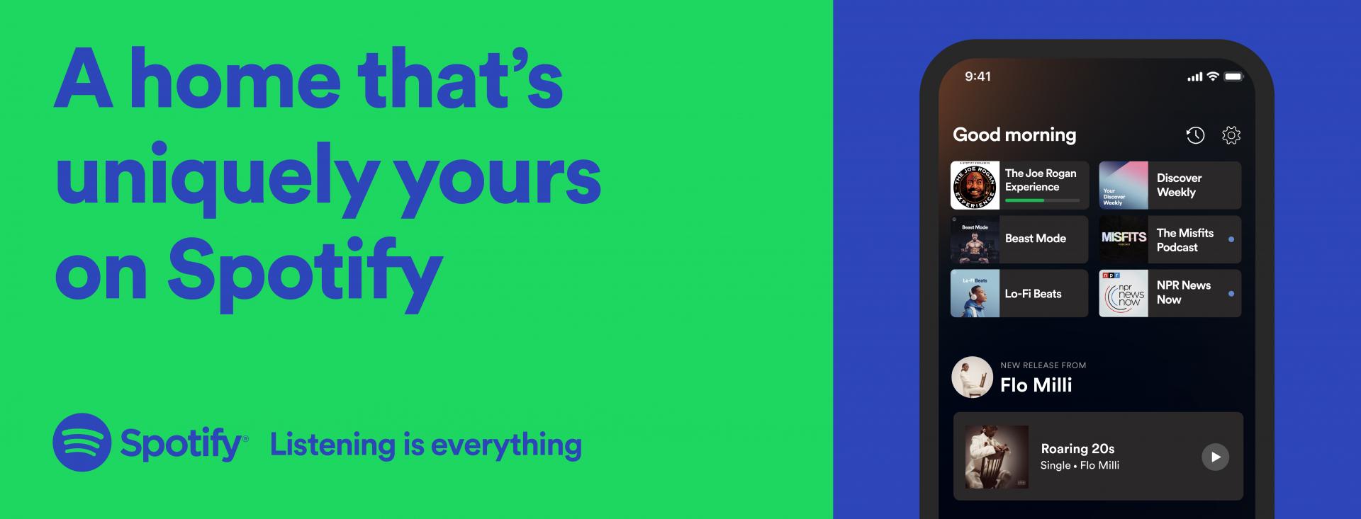 Spotify zmiany w interfejsie na 2021 roku - fot. Spotify