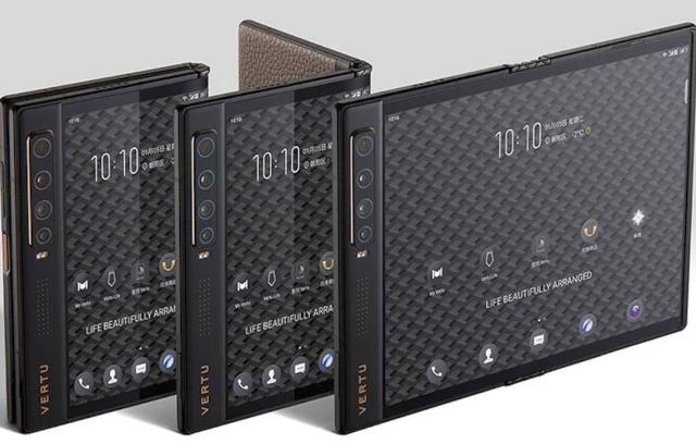 Vertu Ayxta Fold 5G - nowy składany smartfon