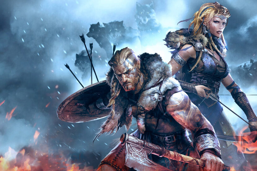 Xbox Games with Gold kwiecień 2021 Vikings Wolves of Midgard