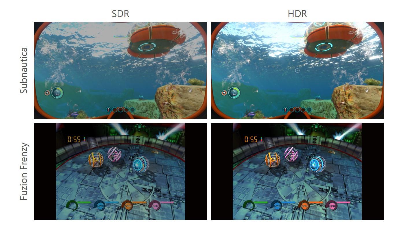 Xbox Series X/S Auto HDR (fot. Microsoft)