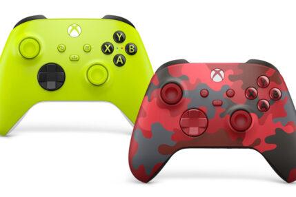 Tak prezentują się nowe kolory padów Xboxa
