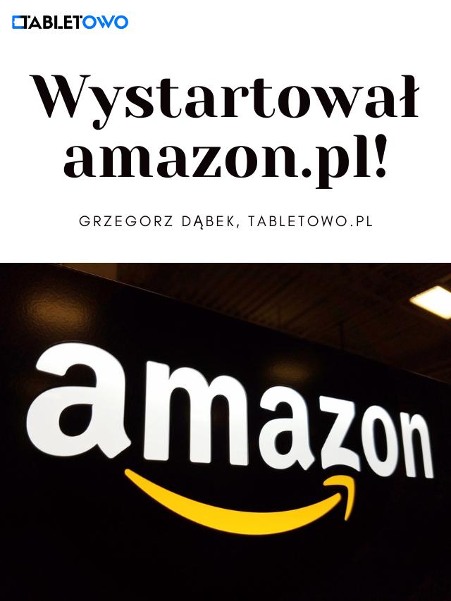 amazon.pl wreszcie wystartował!