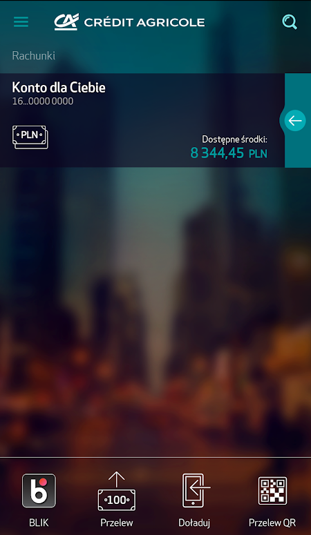 aplikacja banku Credit Agricole CA24 Mobile AppGallery