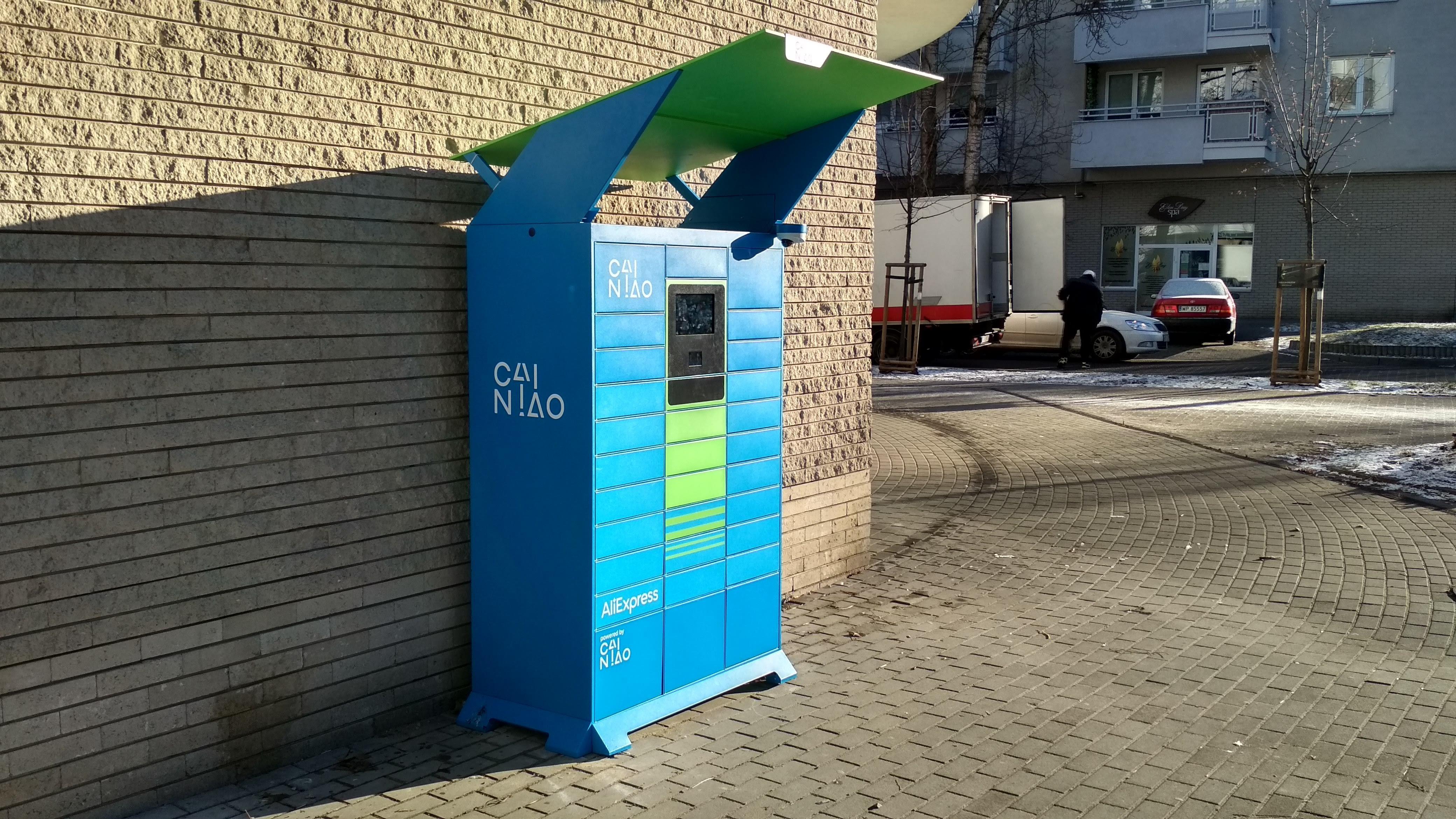 Są już pierwsze automaty Cainiao do odbierania paczek z AliExpress w Polsce!