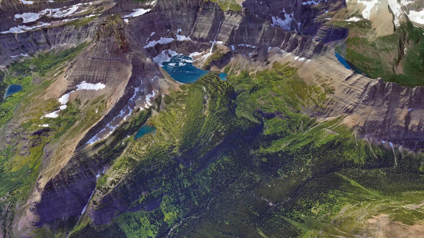 Google Earth potrafi zapewnić naprawdę szczegółowy widok (źródło: Google)