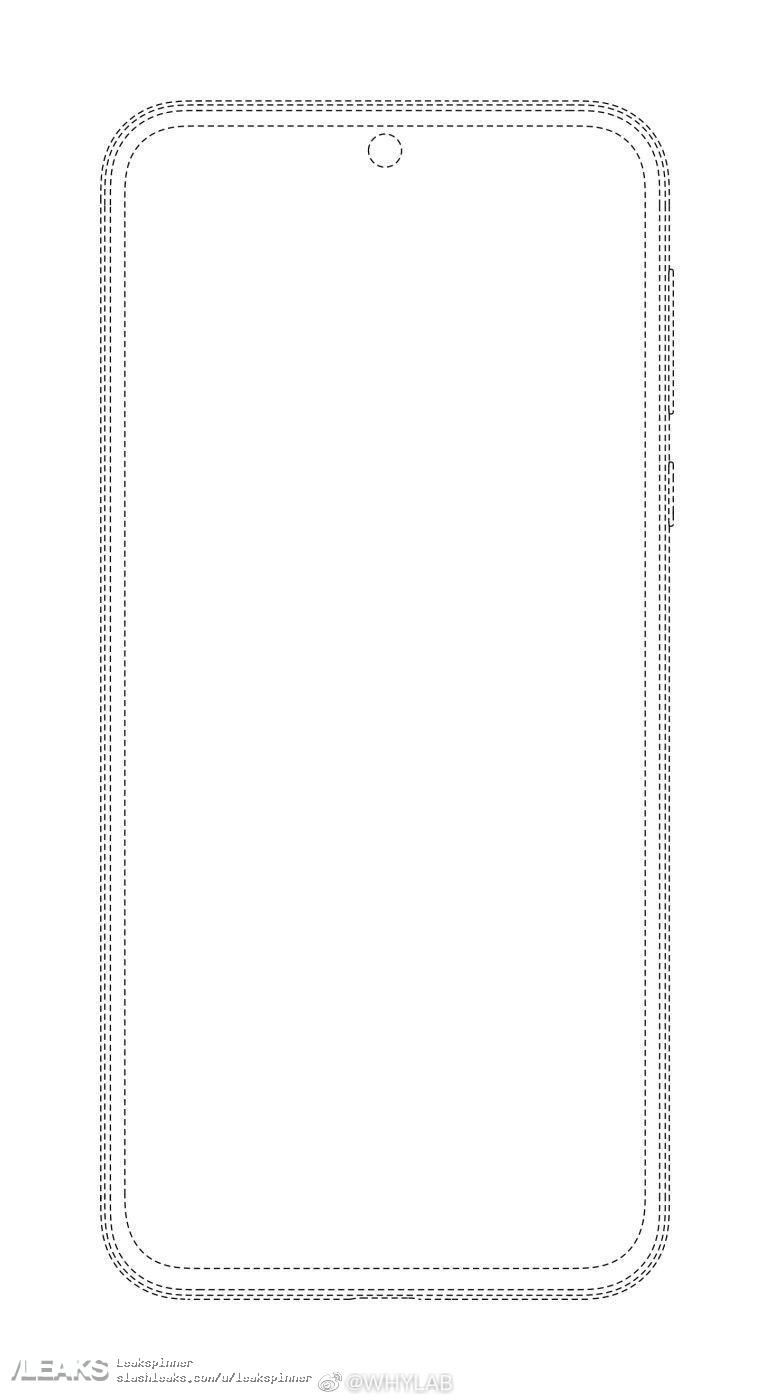 Schemat Huawei P50 front