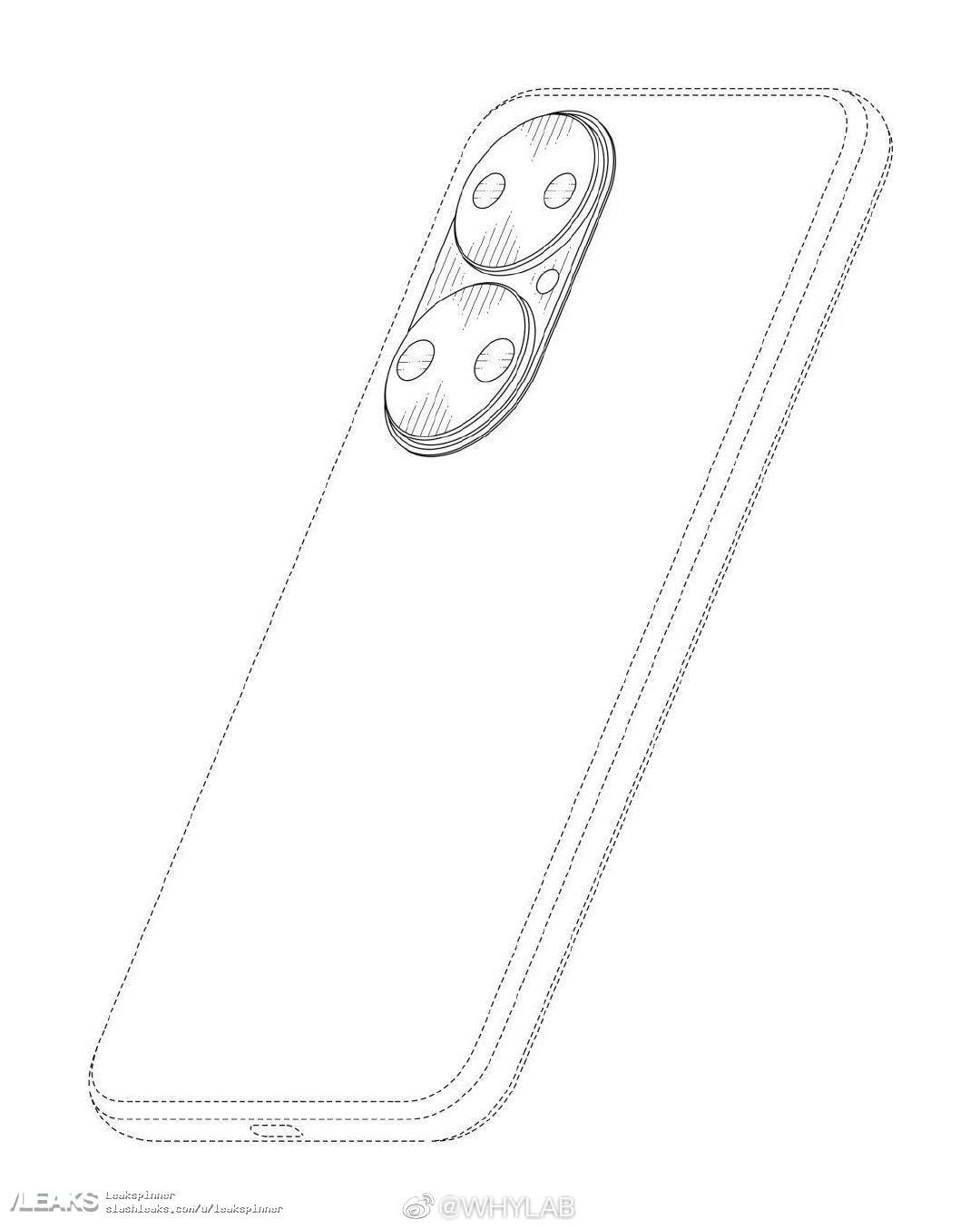 Schemat Huawei P50 tył