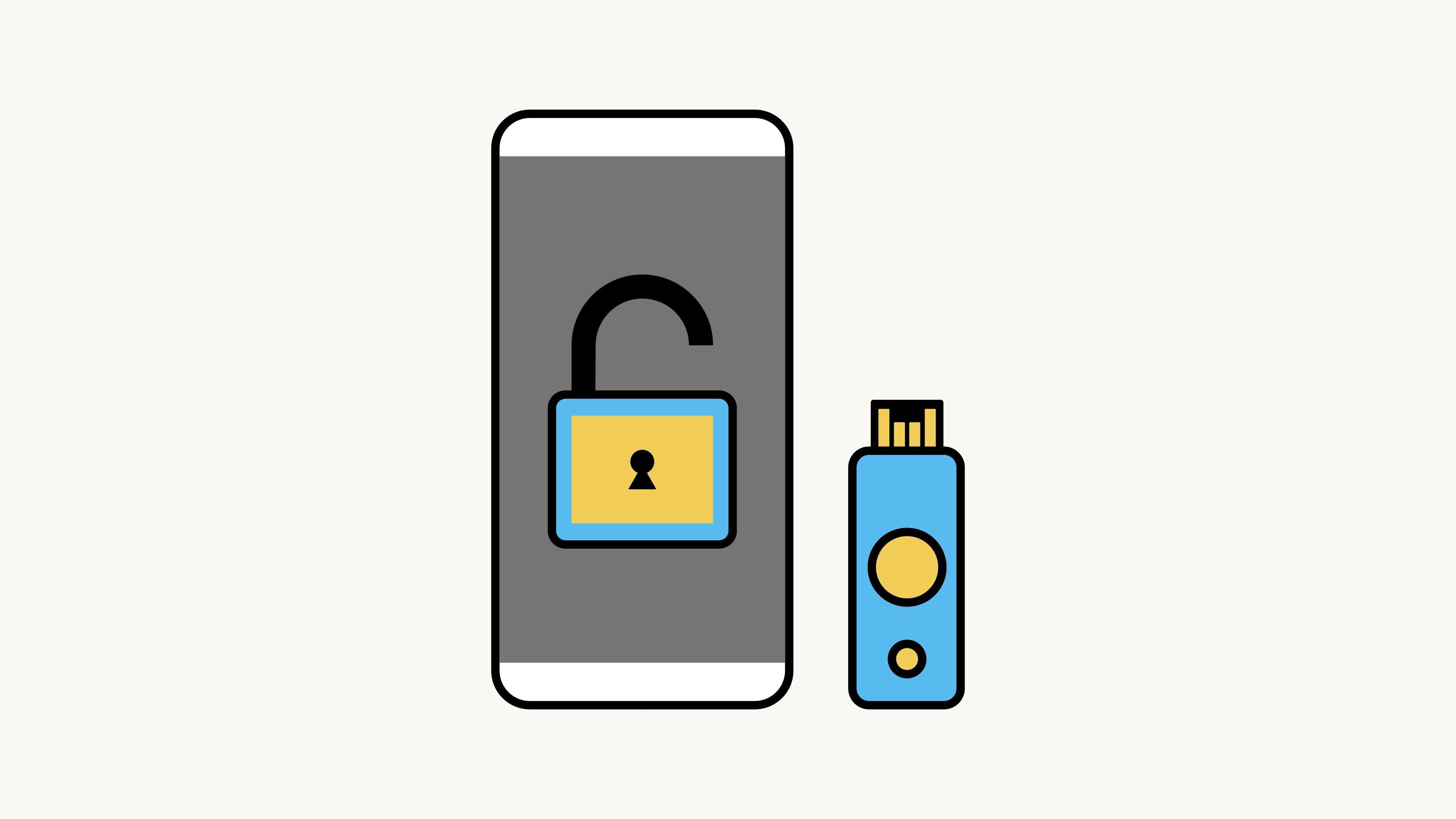 grafika promująca klucz zabezpieczeń na facebooku
