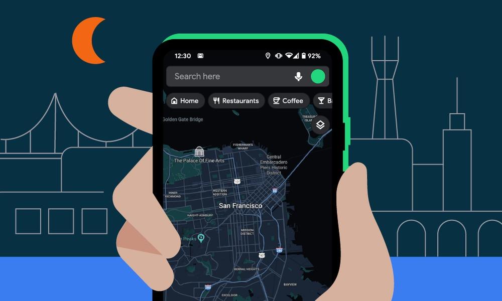 Mapy Google nareszcie zyskują prawdziwy tryb nocny na Androidzie. Testy trwały bardzo długo