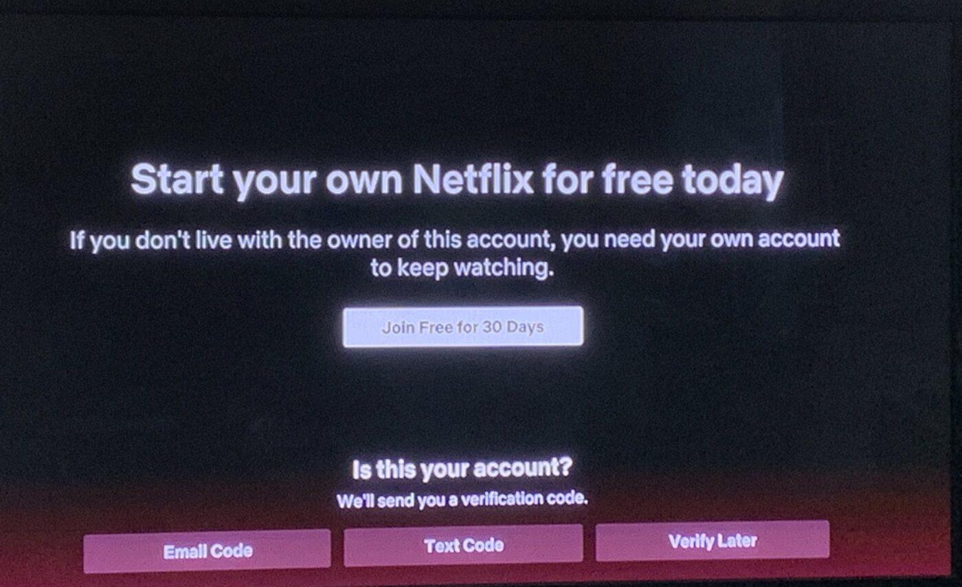 Netflix komunikat