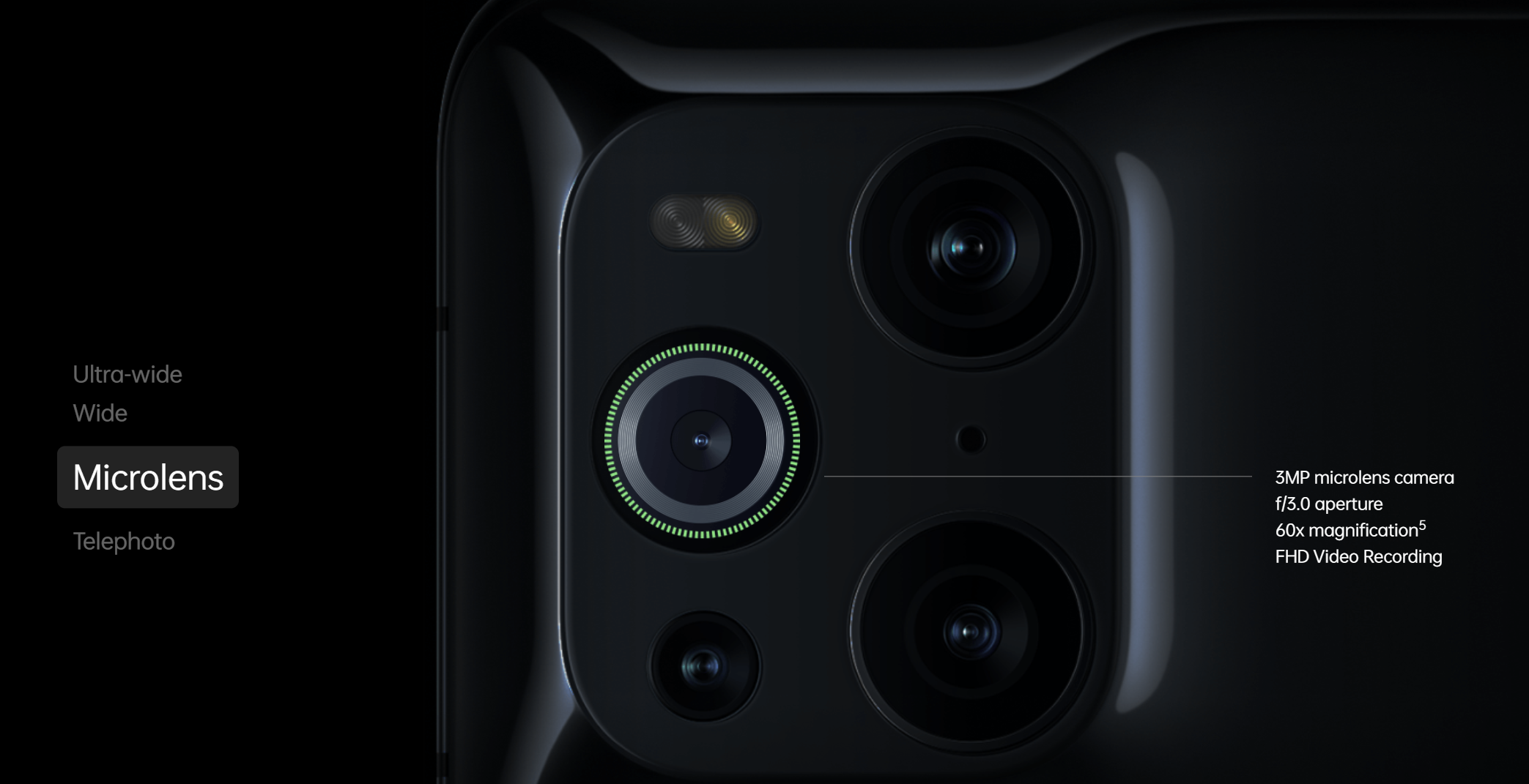 Oppo Find X3 Pro - aparaty