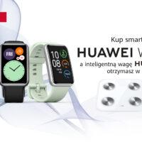 promocja waga Huawei Scale 3 za darmo do Huawei Watch Fit