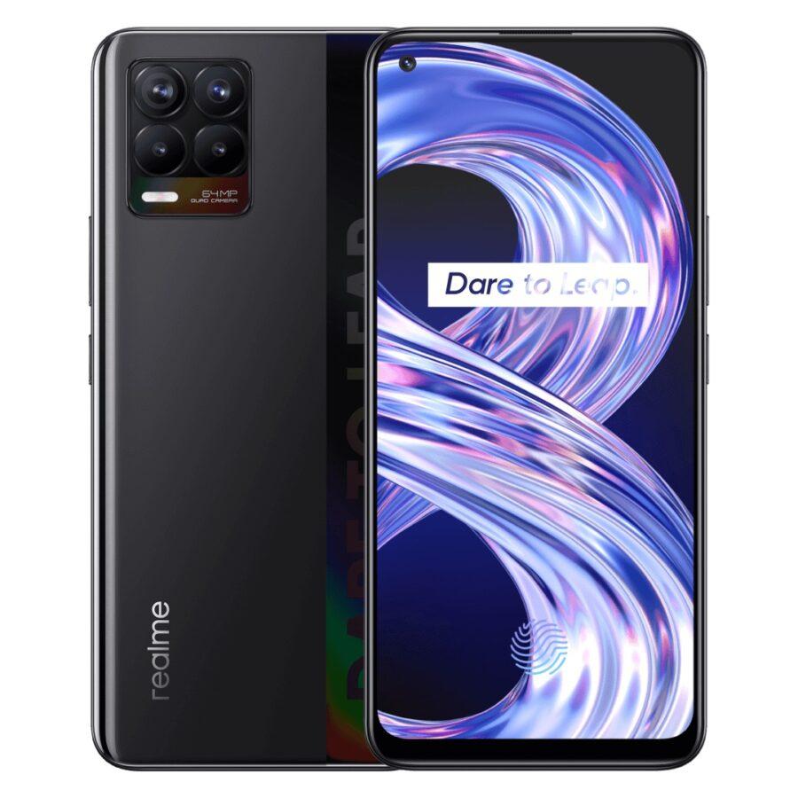smartfon realme 8 smartphone