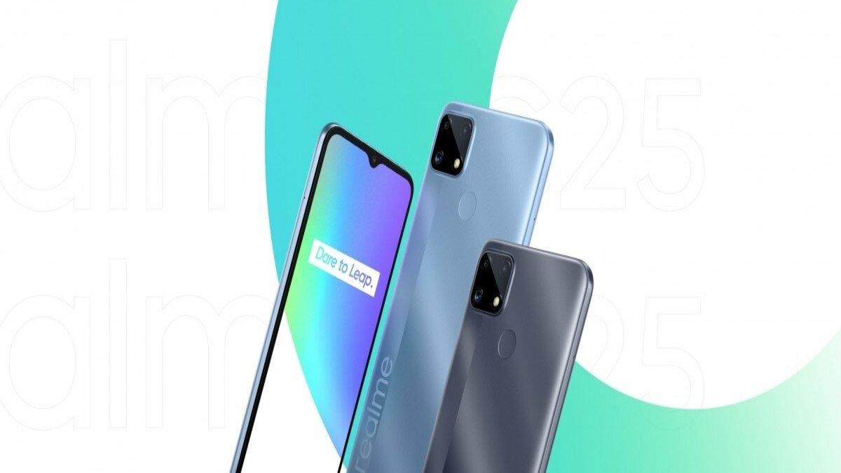 realme c25 smartfon