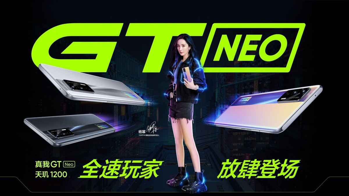 smartfon realme GT Neo smartphone