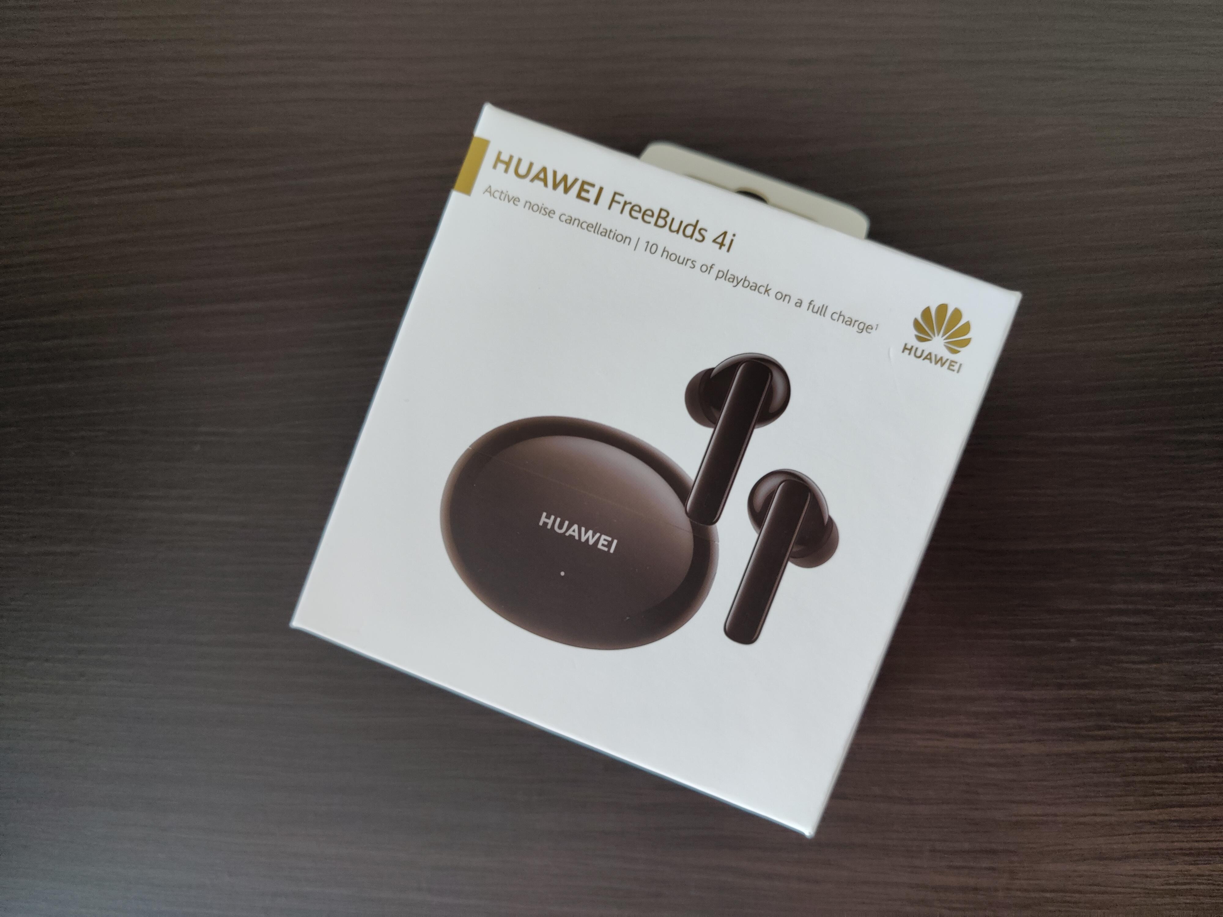 Recenzja Huawei Freebuds 4i - fot. Tabletowo - Pudełko