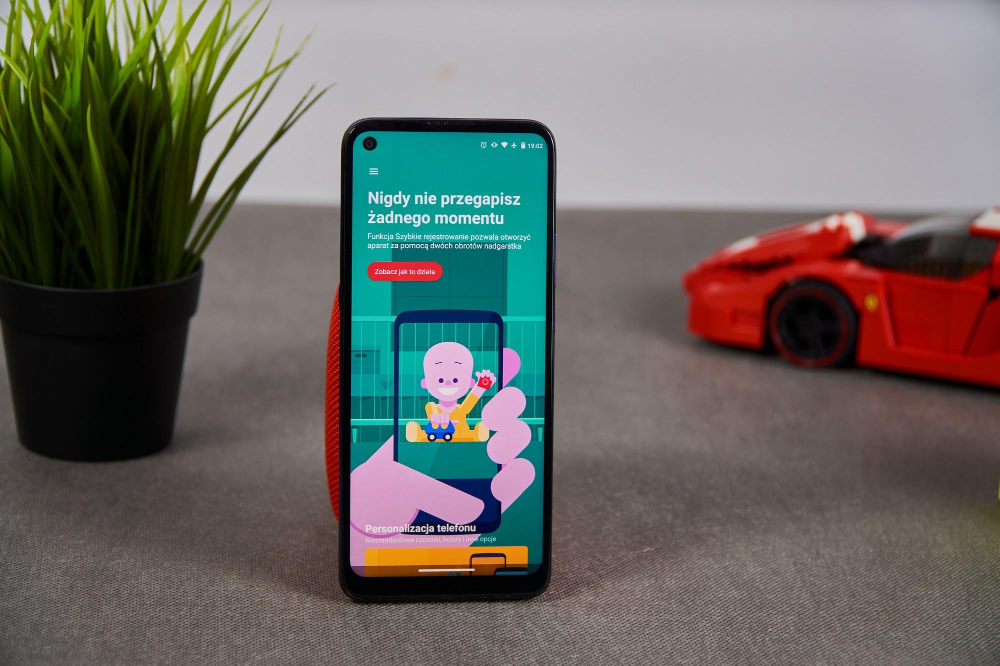 Motorola Moto G9 Power - wyświetlacz