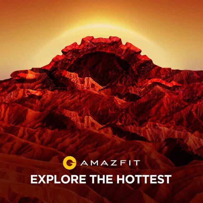 zapowiedź premiery Amazfit T-Rex Pro teaser