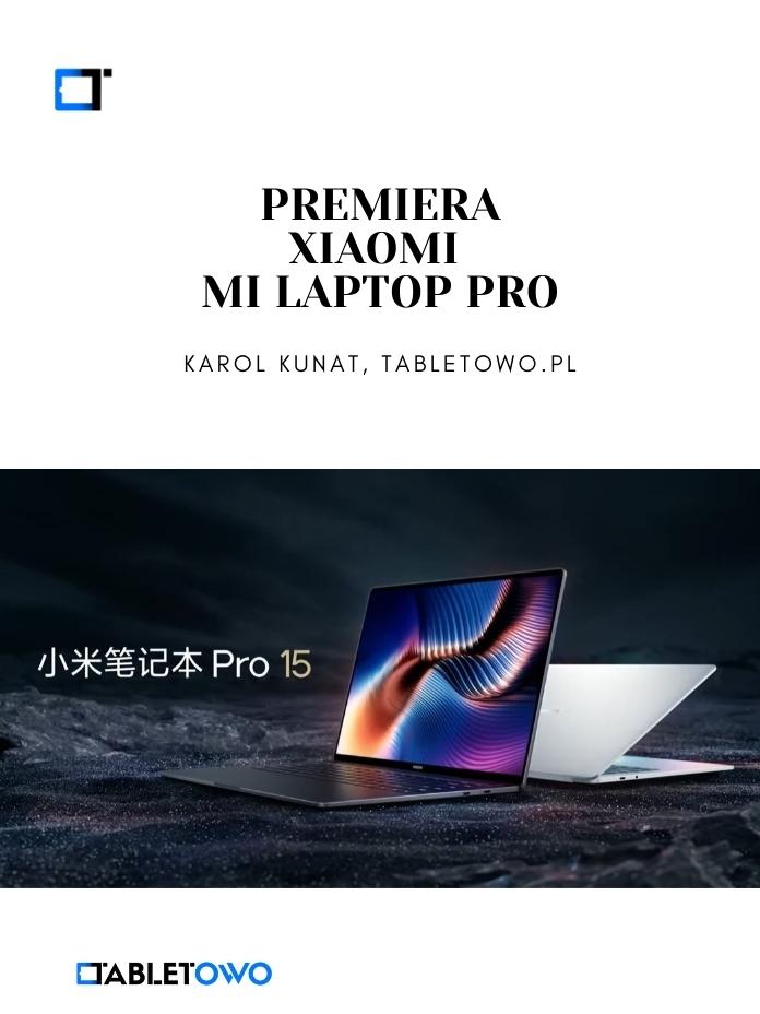 """Xiaomi Mi Laptop Pro z OLED 15"""""""