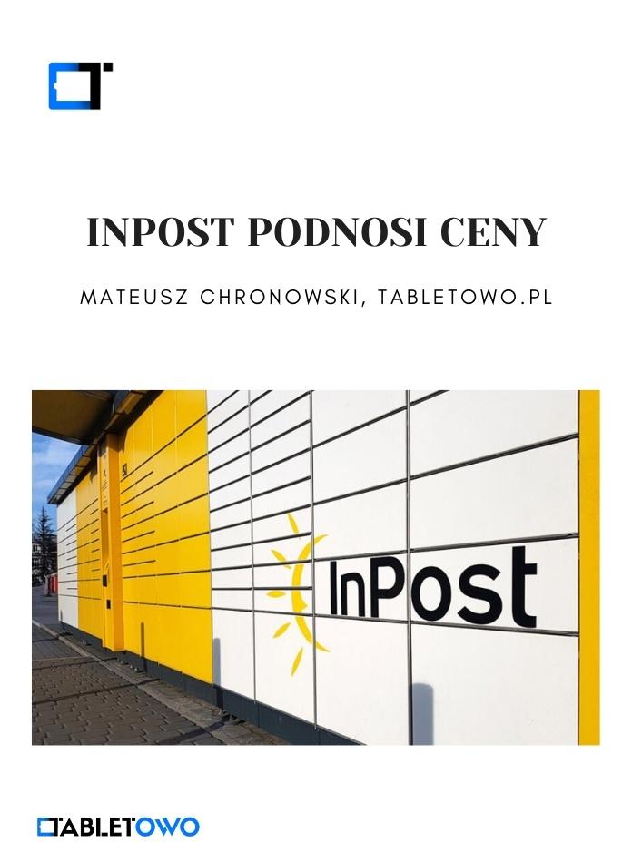 InPost podnosi ceny przesyłek