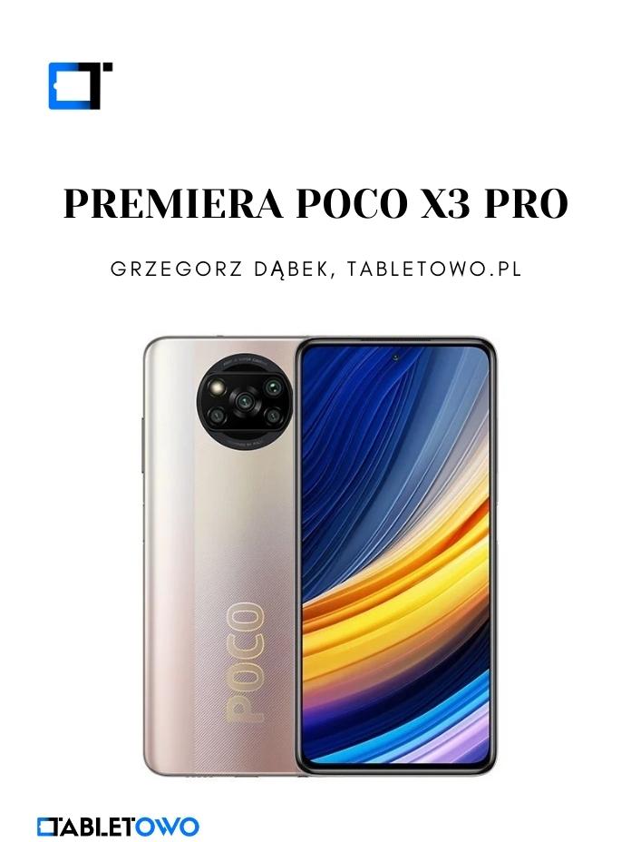 Premiera POCO X3 Pro