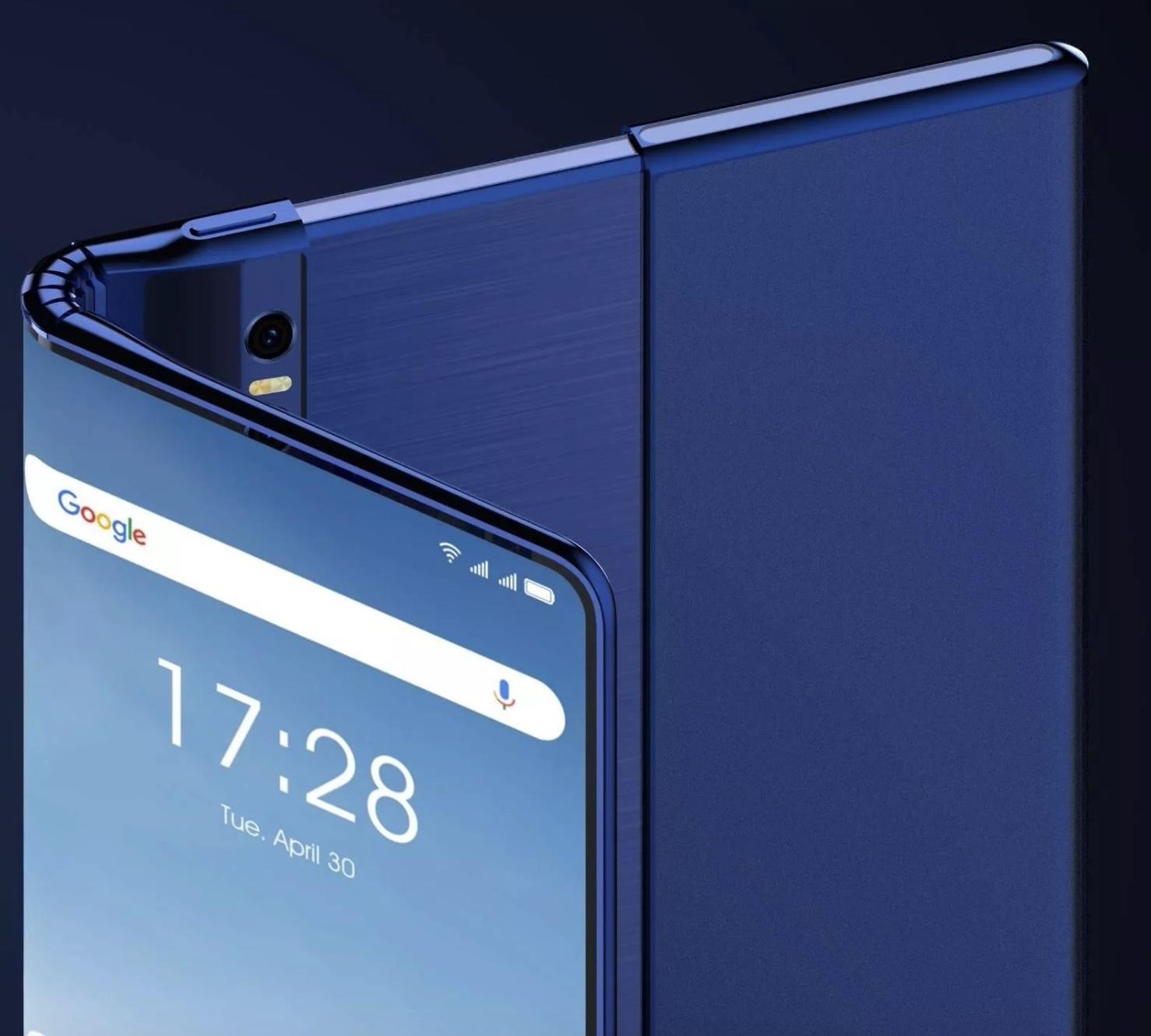 TCL składany smartfon