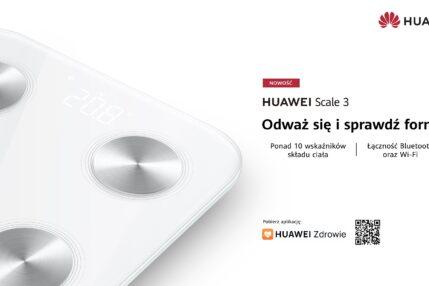 inteligentna waga Huawei Scale 3