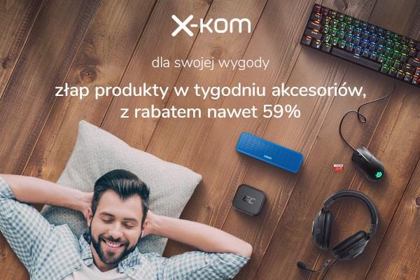 x-kom promocja tydzień akcesoriów