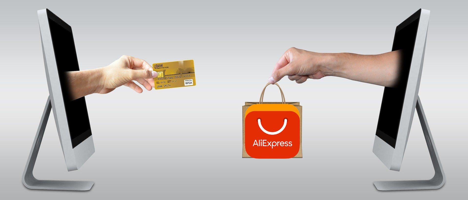 zakupy przez internet e-commerce AliExpress logo